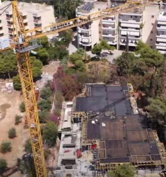 Η οικιστική επένδυση της Ten Brinke στην οδό Μερόπης στη Γλυφάδα - Πηγή: Ten Brinke