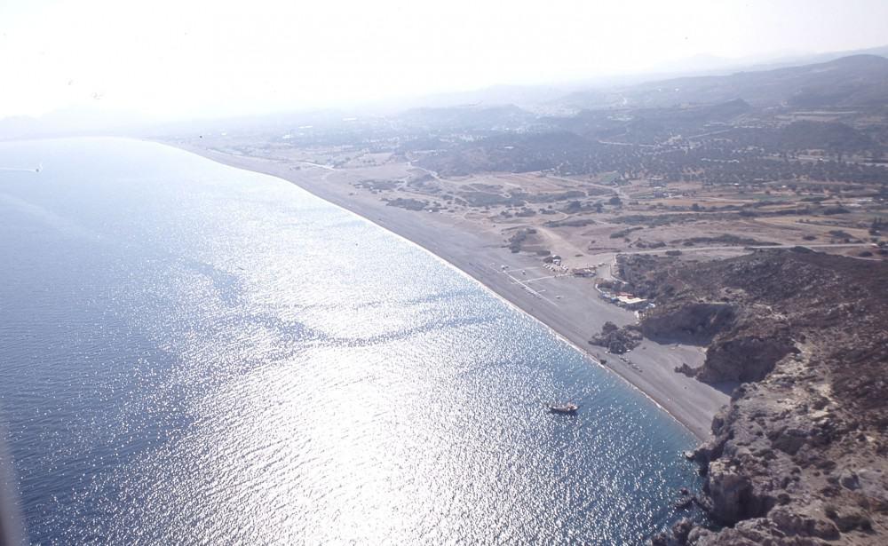 Η έκταση στη Βόρεια Αφάντου στη Ρόδο - Πηγή φωτό: ΤΑΙΠΕΔ
