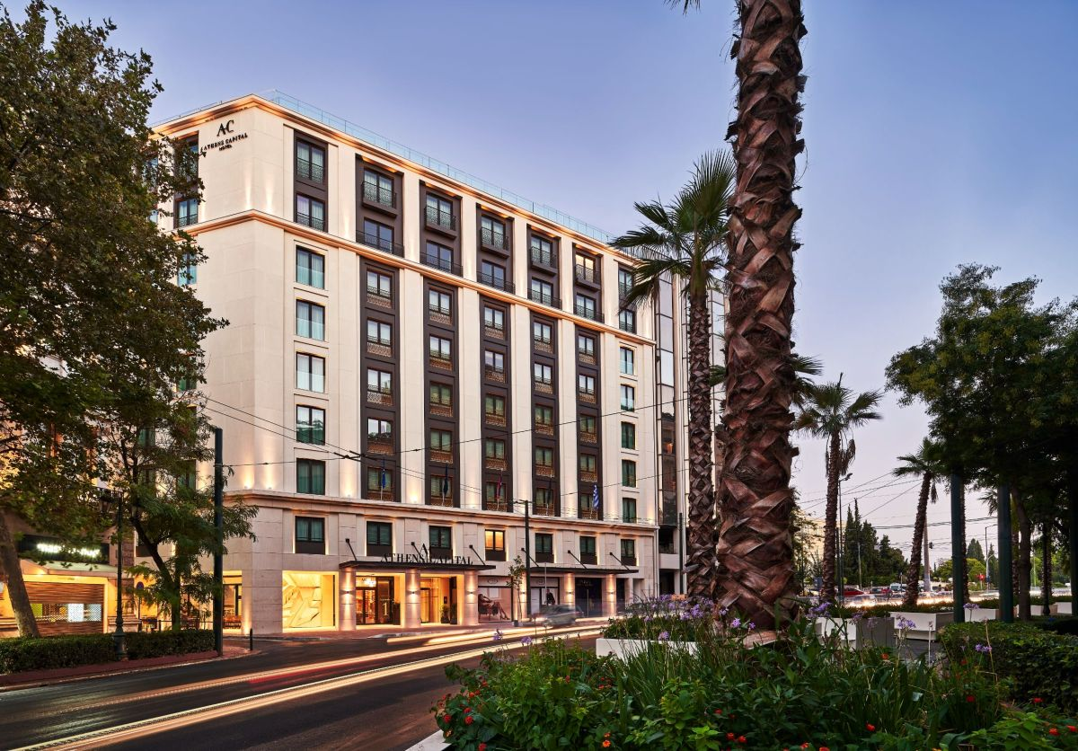 To 5 αστέρων Athens Capital Hotel - MGallery Collection - Πηγή: Accor