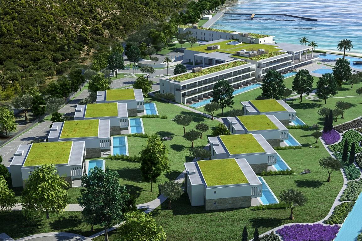 Το νέο 5 αστέρων συγκρότημα της Μεντεκίδης στη Σιθωνία Χαλκιδικής - Πηγή: DRGF Architects