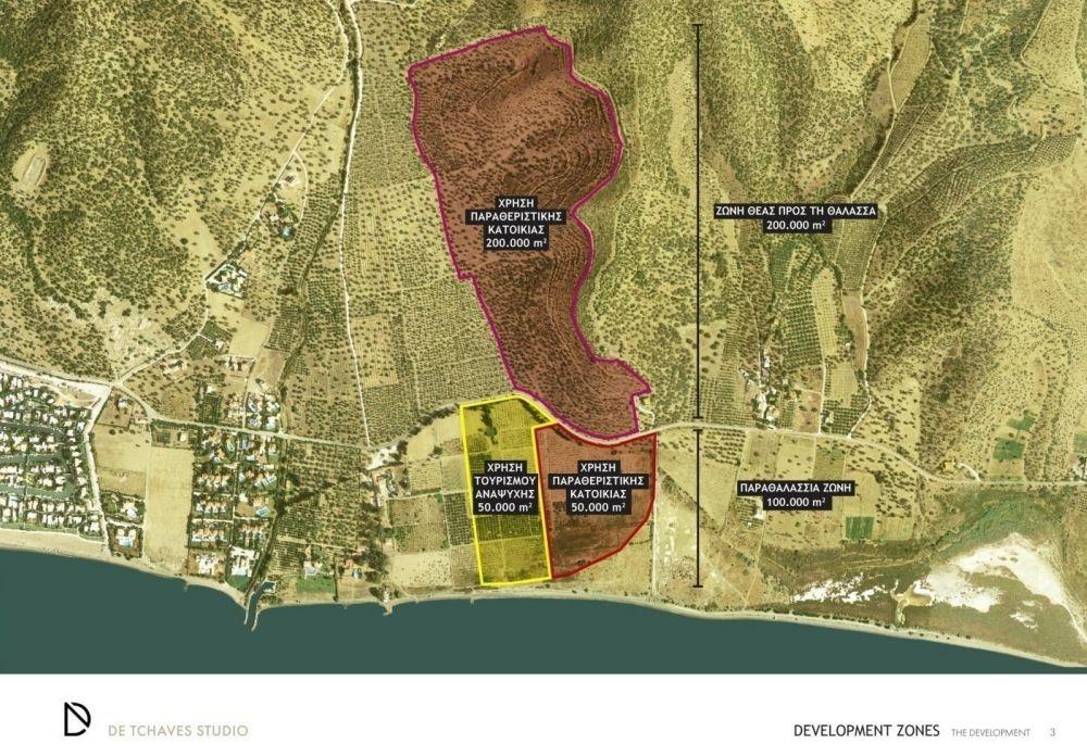 Η περιοχή της επένδυσης Hydra's Art Residencies στην Αργολίδα - Πηγή: Enterprise Greece