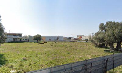 Η έκταση στη Μεταμόρφωση που είναι σχεδιασμένο να γίνει το νέο εμπορικό κέντρο