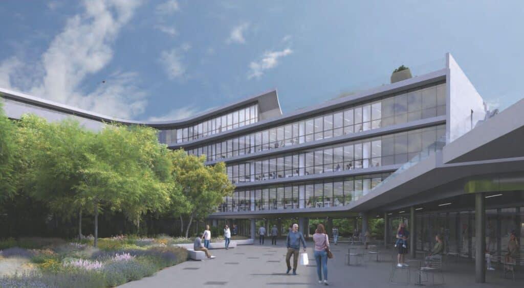 Το νέο βιοκλιματικό κτίριο γραφείων The Element, της Prodea στο Μαρούσι - Πηγή: Prodea Investments / SPARCH / 3D by cad monkeys