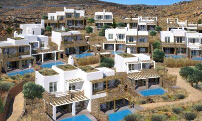 Το νέο 5άστερο συγκρότημα της Intrakat και της London & Regional Properties στο Καλό Λιβάδι Μυκόνου - Πηγή: Intradevelopment